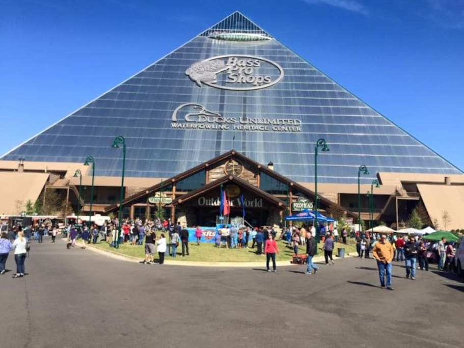 Bass Pro a must for the sports enthusiast!