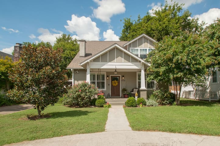 Spacious Craftsman Nashville Home in Sylvan Park