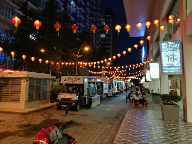 1br 2bed Apt in Ara Damansara OnTop of Evolve Mall
