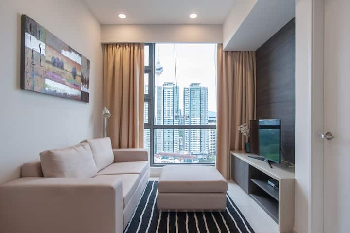 W11 The Roberston 1R1B Bukit Bintang KL High Floor