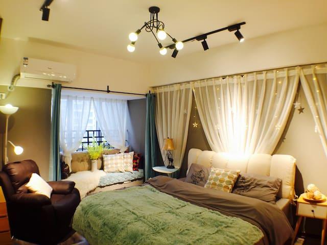 【梧桐宿】观音桥中心,天街旁,九街上,高品质奢装公寓 - 重庆市 - อพาร์ทเมนท์
