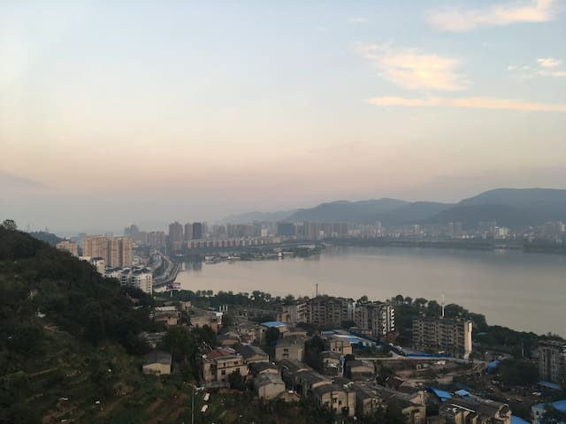 Lake View Apartment in Jingguihaoting - Huangshi Shi - Departamento