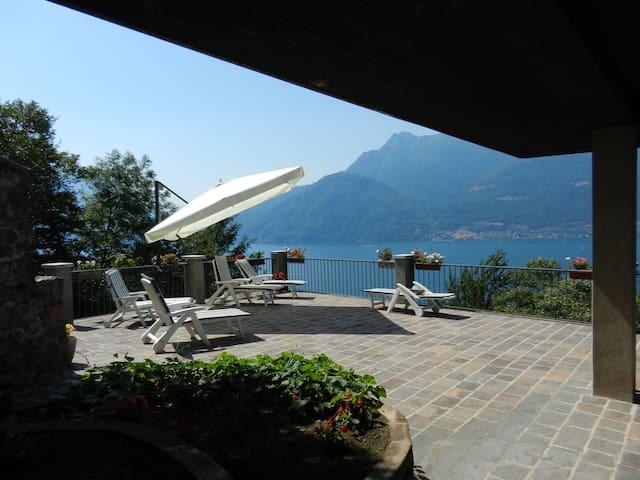 Appartamento 110 mq vista lago - Biosio