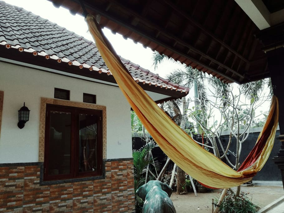 hammock chilling , perfect for snoozing