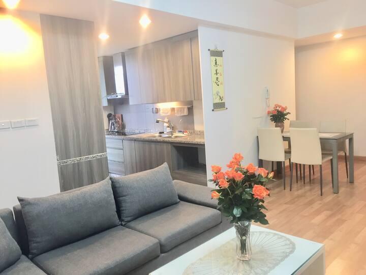 Cho thuê căn hộ 71m 2 pn khu Rừng Cọ Ecopark