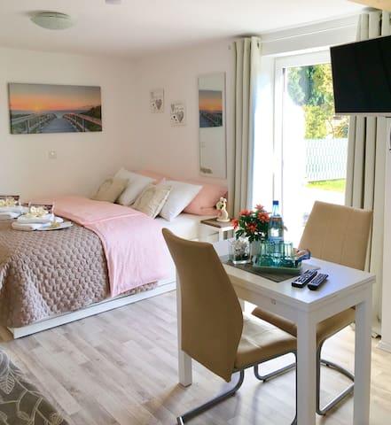 Apartment for you mit eigenem Garten und Terrasse