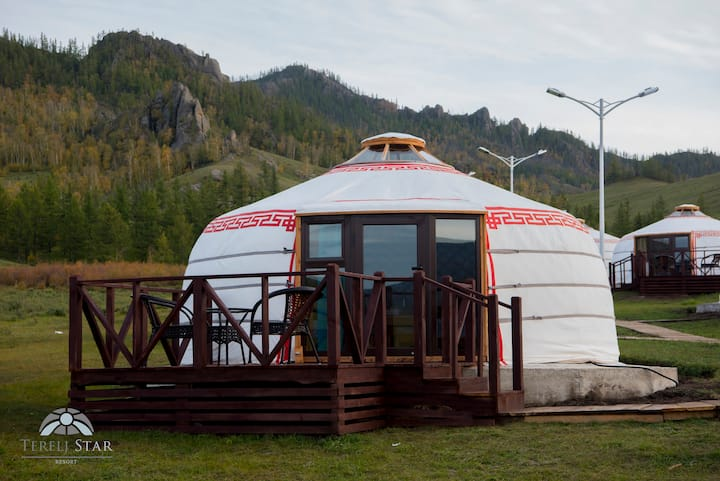 Stay in Modern Ger /Yurt/