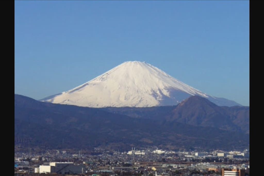 This is world heritage Mount Fuji.