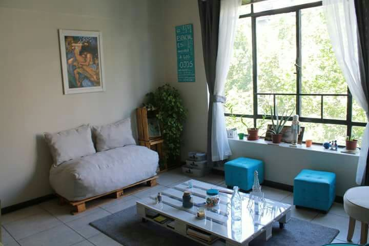 Pieza en Amplio y lindo Departamento en el centro - Santiago - Appartamento