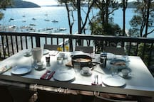 Dine on the deck