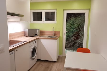 Studio neuf proche disney avec jardin
