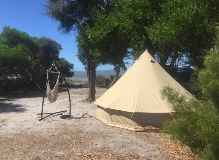 Prom Glamping 5m Bell Tent