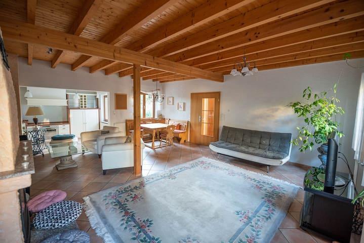 Ferienhaus bis 10 Personen und 2,5 Schlafzimmern