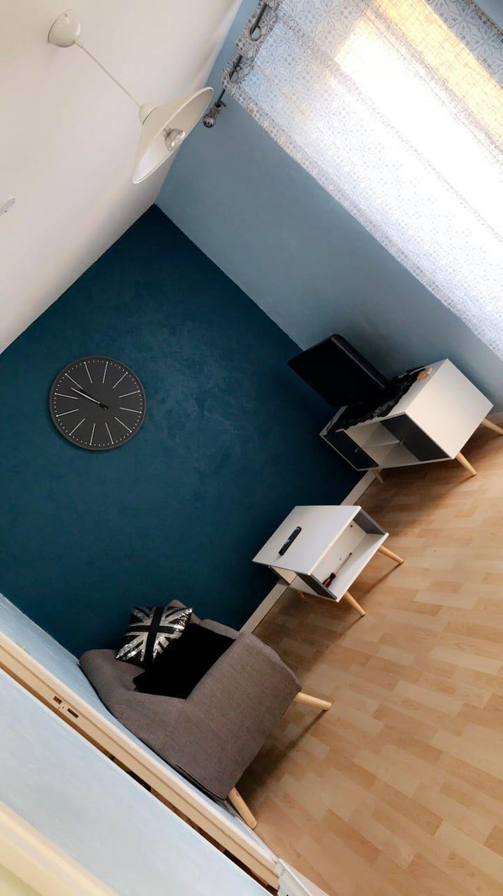 Studio meublé 35m,  sdb, cuisine