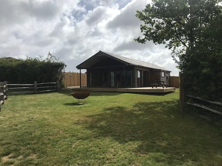 The Cabin at Burnt Barns Farm