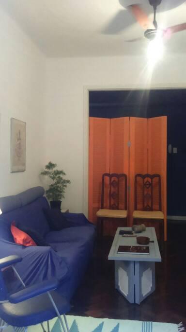 A sala (the livingroom)