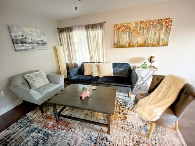 New! Clean+Modern Downtown Home