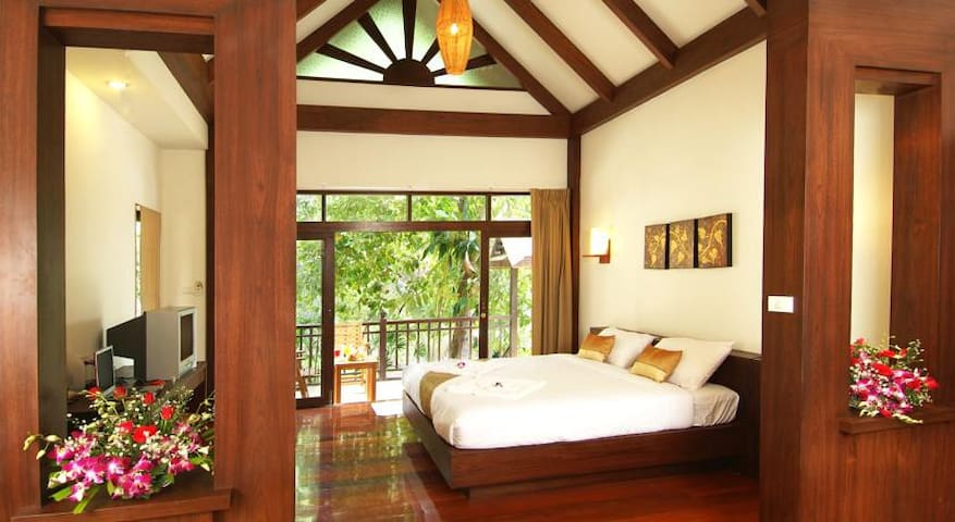 Beautiful Sea View Homely Deluxe room - Ao Nang - Apartemen