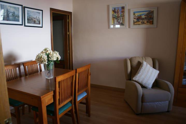Apartamento/atico, con terraza. 4 camas. Wifi