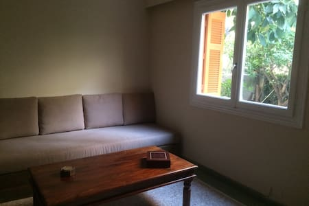 Jane B.  garden-basement-flat  in Zografou Athens
