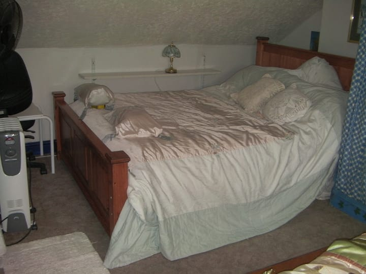 Attic SupperKing size and single bed memory foam