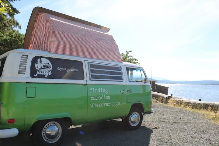 VW WESTFALIA Camper Van Rental - Vancouver Island