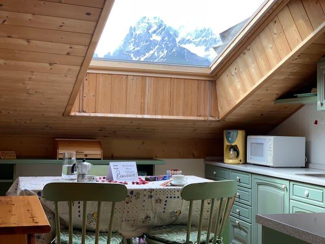 Dolomiti - Mansarda Panoramica vicino le piste