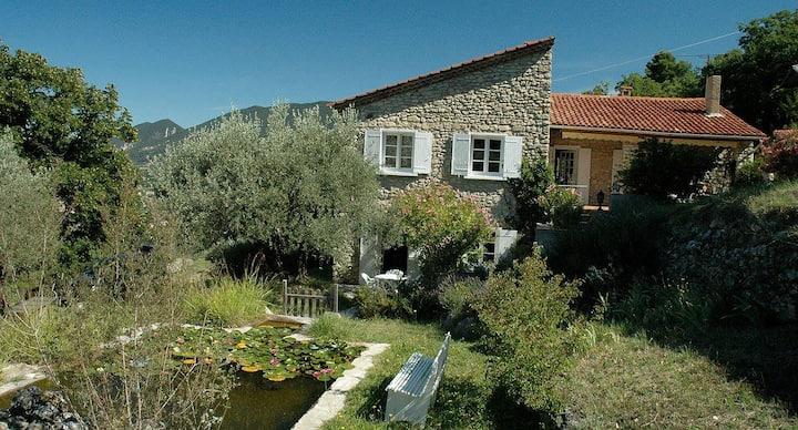 Maison de charme dans les oliviers