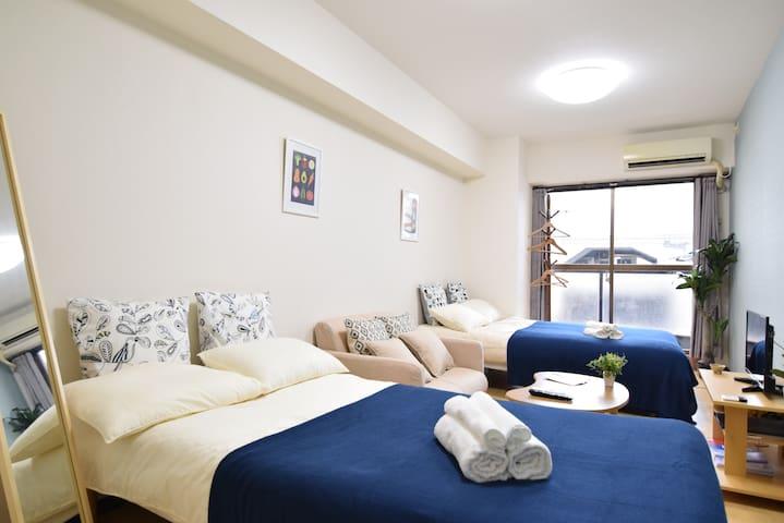 Cozy apt in Tokyo's center, 4min from JR Sta. ^.^ - Taitō-ku - Wohnung