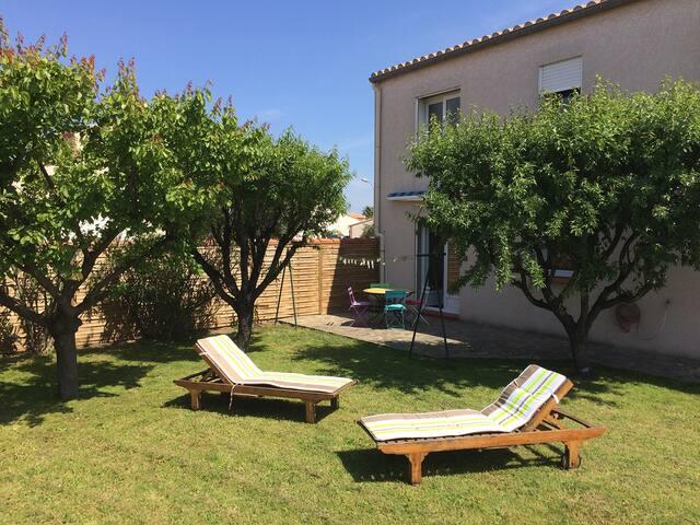 Appartement de vacances et jardin au calme - Argelès-sur-Mer - 公寓