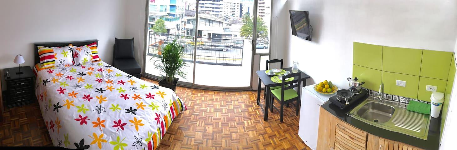 Preciosa mini suite en el mejor lugar de Quito