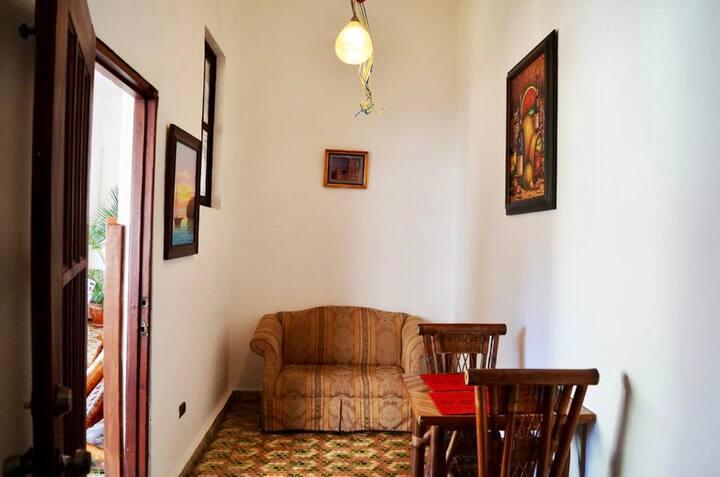 Acogedor apartamento estudio con cocina y terraza