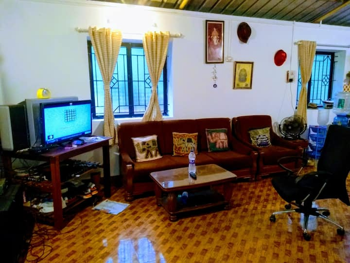 House for rent on sharing basis in Siolim.