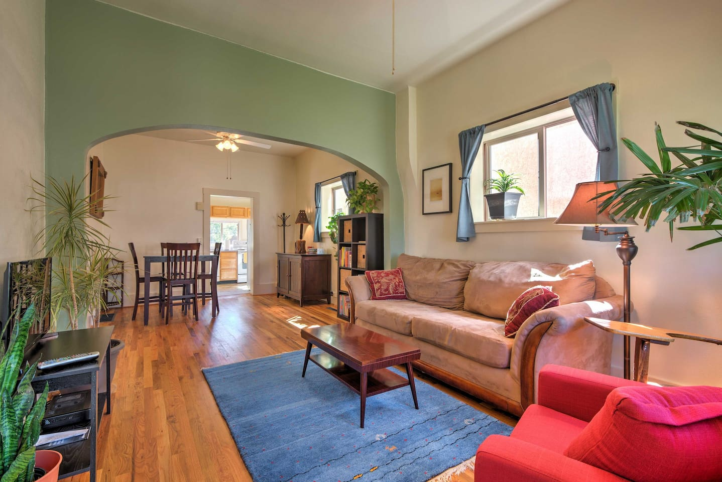 You'll feel right at home in this historic Salida vacation rental house!