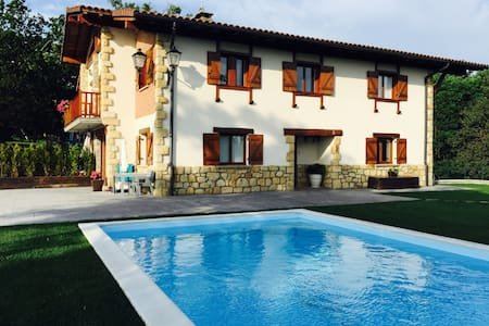 SPECTACULAR DETACHED VILLA TRADITIONAL BASQUESTYLE - Willa
