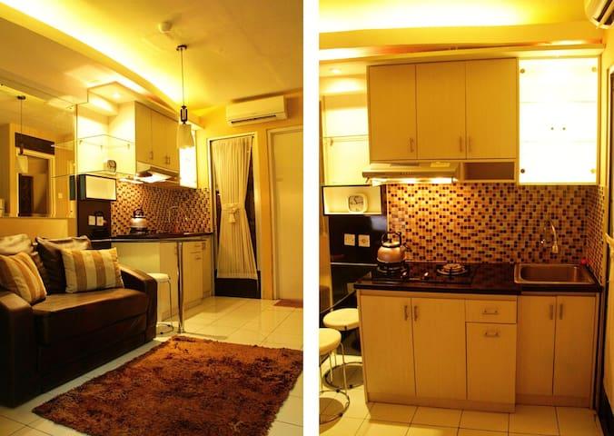 2BR Kalibata City Apartment by Sinatrias Room
