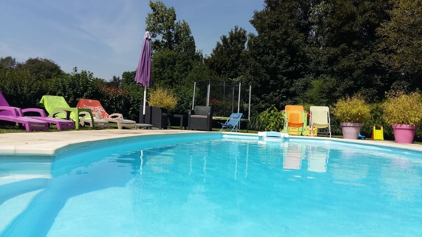 Suite ou Chambre Parentale - Saint-Riquier - Bed & Breakfast