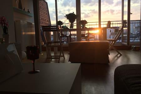 Gemütliche 1-Zimmerwgh. über den Dächern der Stadt - Hamburgo