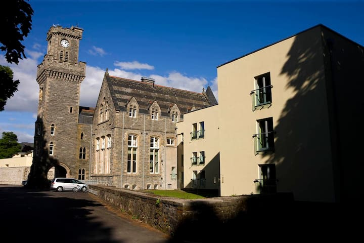 The Raven Wing was the Science Block of the Abbey