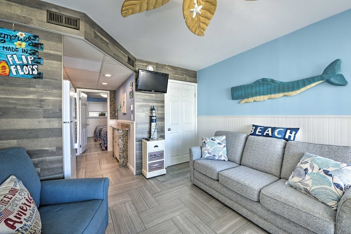 NEW! Remodeled Condo Right on Wildwood Crest Beach