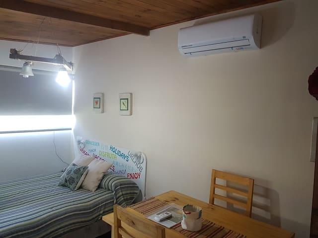 Cabaña equipada con Split frio/calor