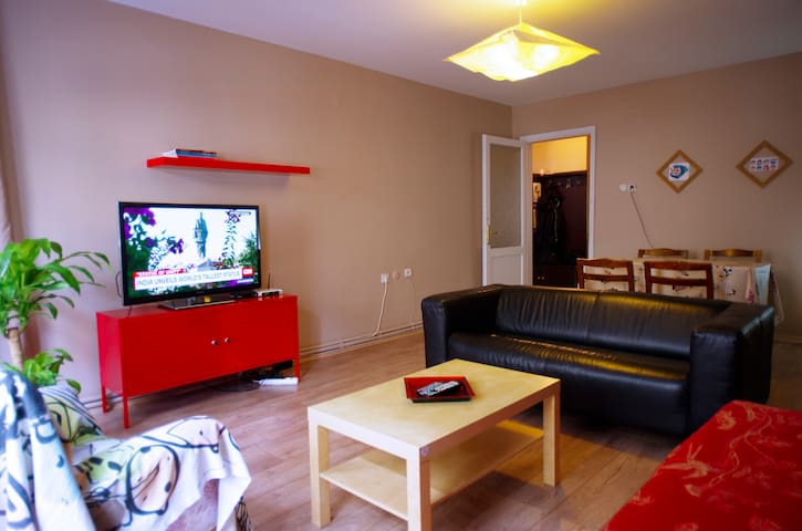 Entire apartment with 2 bedrooms in Besiktas