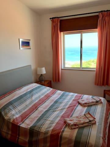 Double bedroom sea view