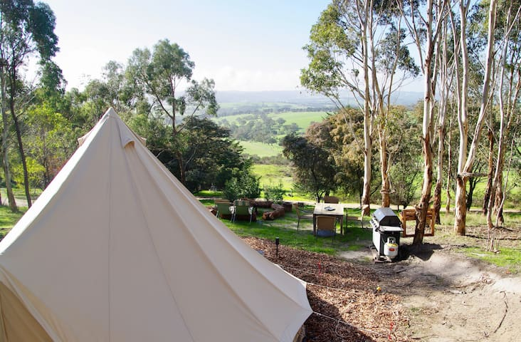 Pear Tree Hollow Glamping Tent
