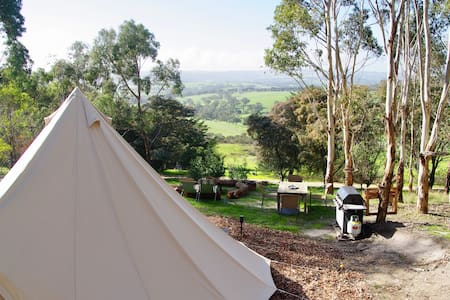 Pear Tree Hollow Glamping Tent - love nature