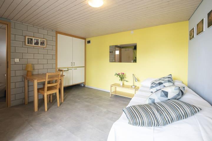 Studio 1 mit eigener kleinen Küche