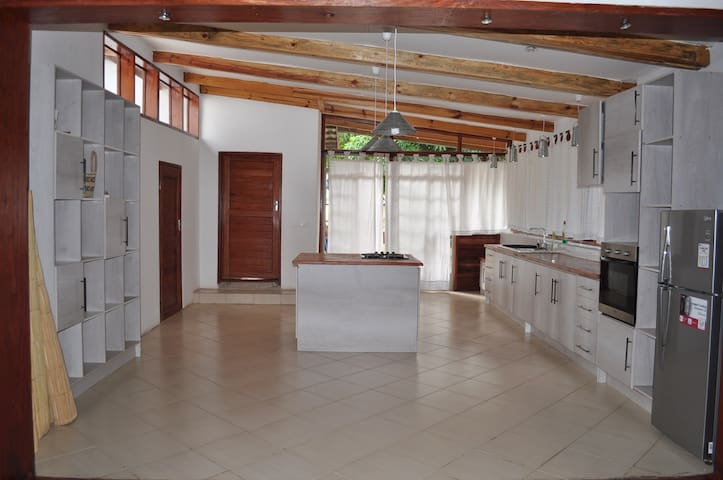 Modern colonial house in central Livingstone