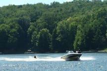 Full activity lake