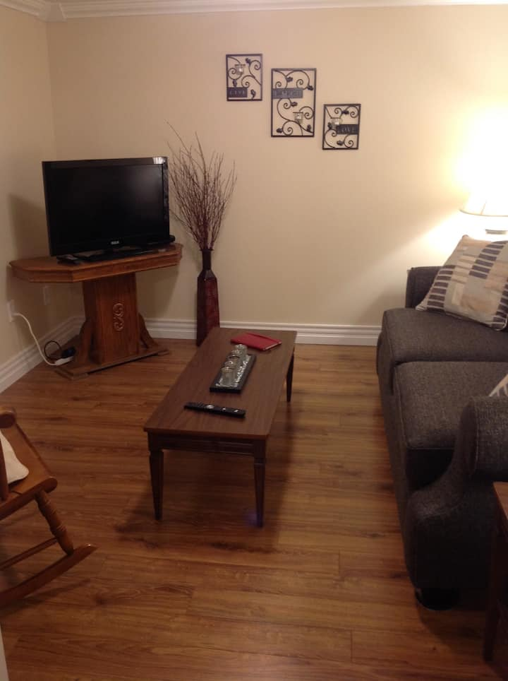 Rest Awhile One Bedroom Basement Apartment