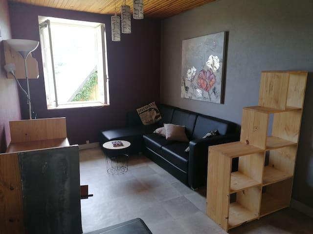 Appartement cosy dans village calme